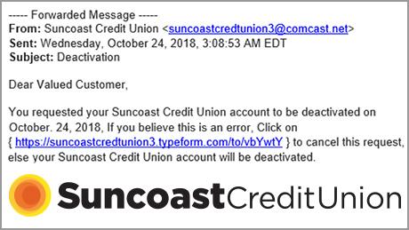 Fraude, phishing por email para miembros