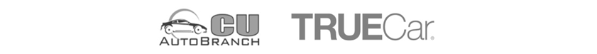 Logos de Carvana, CU Auto Branch y True Car