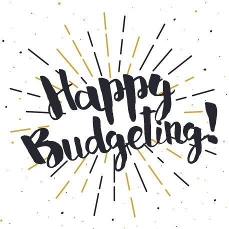Happy Budgeting 2018