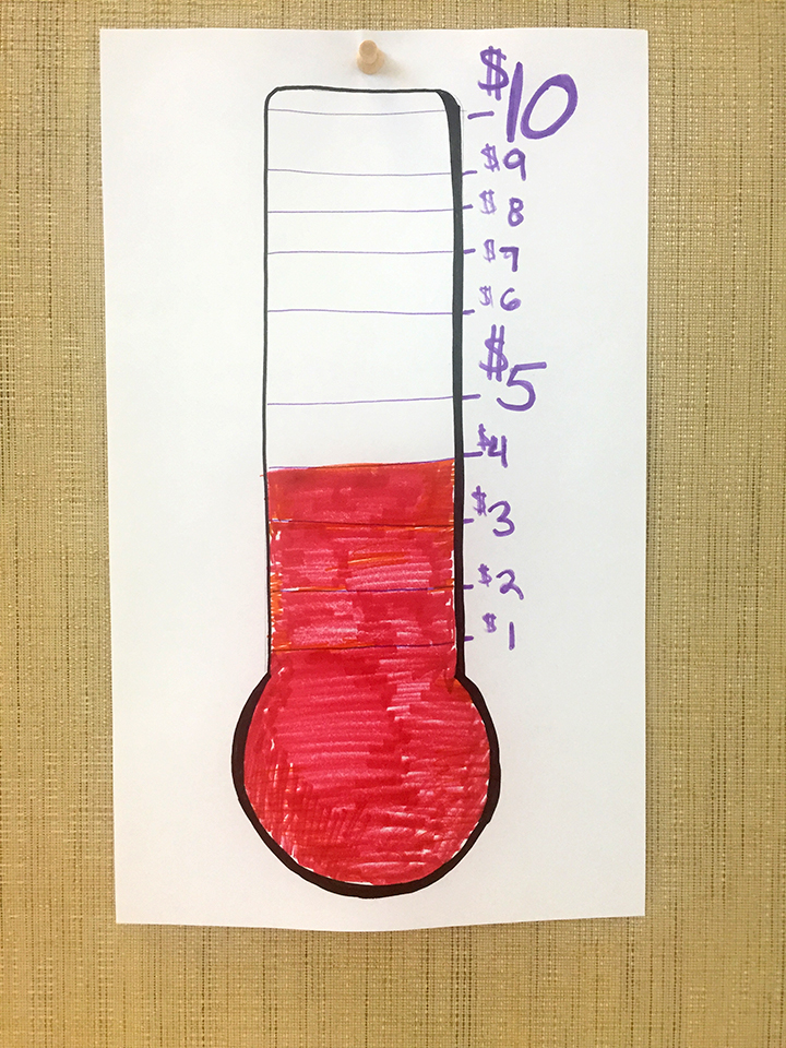 Savings Thermometer