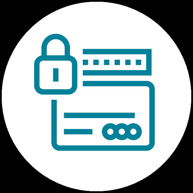 Tarjeta de crédito Secured