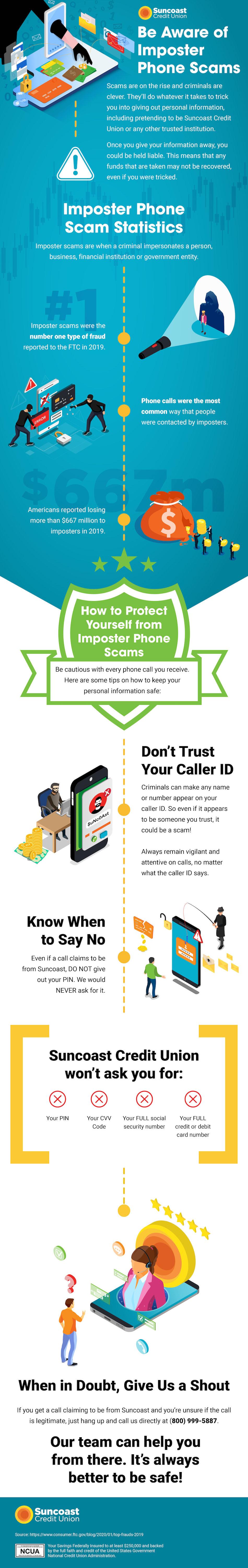 Tenga cuidado con los fraudes de phishing por teléfono