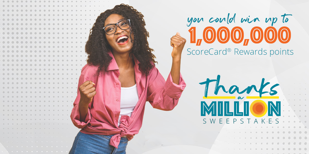 Scorecard Rewards Score Big Sweepstakes