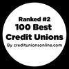 Puesto2 entre las mejores100cooperativas de crédito de Credit Unions Online