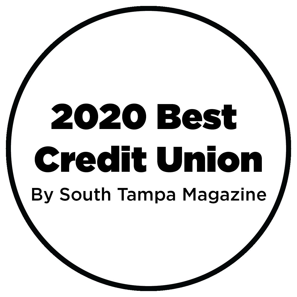 Mejorcooperativa de crédito de2020 deTampa Magazine