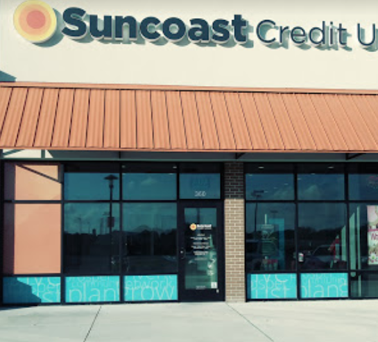 Suncoast Credit Union | Lakeland, frente