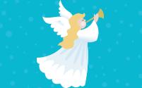 Un ángel que trae gran alegría