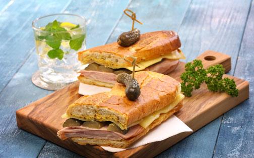 Un sándwich delicioso