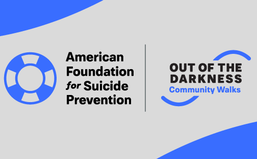 Logotipo de Out of the Darkness Community Walks