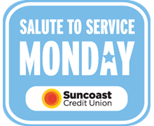 TB Rays Salute to Service Days presented by Suncoast Credit Union