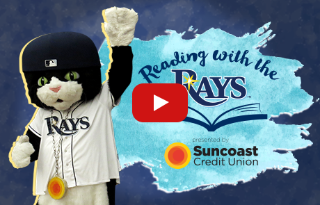DJ Kity and Reading with the Rays presented by Suncoast Credit Union