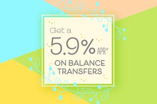 Obtenga una APR del 5.9%* en transferencias de saldo por tiempo limitado