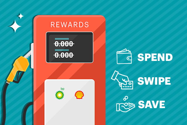 Fuel Up Rewards. Spend, swipe and save.