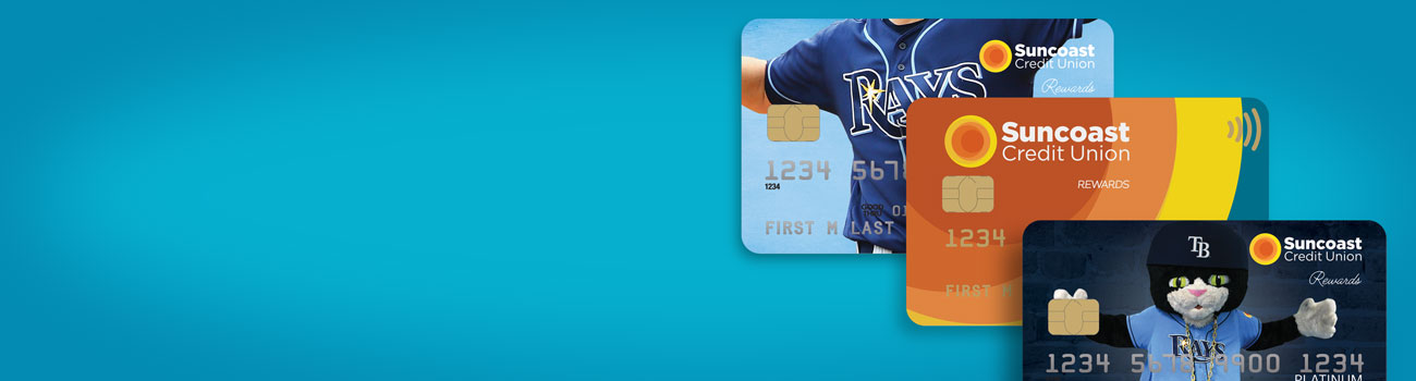 Official TB Rays credit cards now available exclusively at Suncoast Credit Union