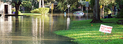 Don't let rising water dampen your wallet. Protect yourself with flood insurance.