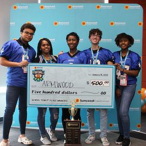 Ganadores del1.º puesto del FF2020deArmwoodHigh School