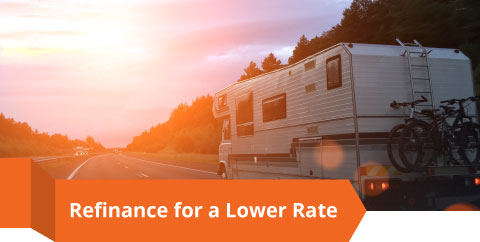 Refinance for a lower rate