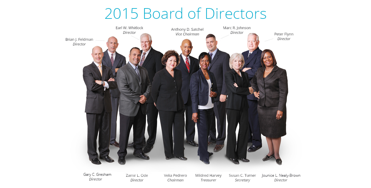 Suncoast Board Members, 2015